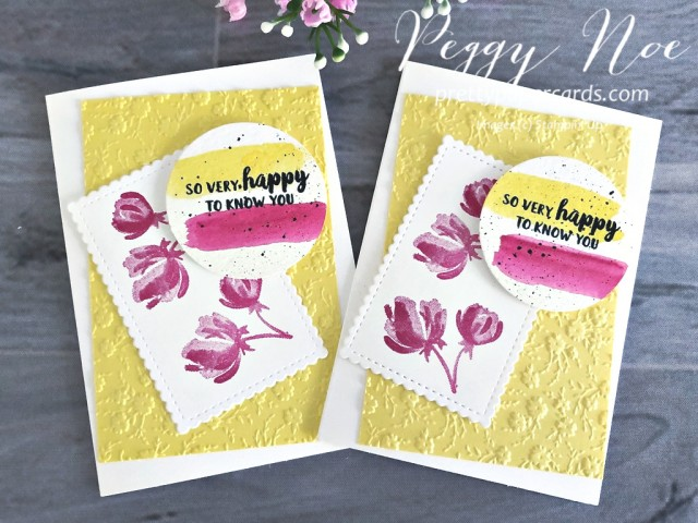 Beautiful Friendship Happy Stampin' Up! Pretty Paper Cards