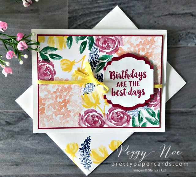 Beautiful Friendship Stampin' Up! Pretty Paper Cards