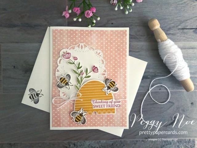Honey Bee Bundle Stampin' Up! Peggy Noe