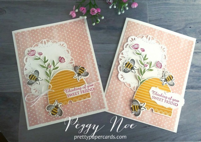 Honey Bee Bundle Stampin' Up! Pretty Paper Cards