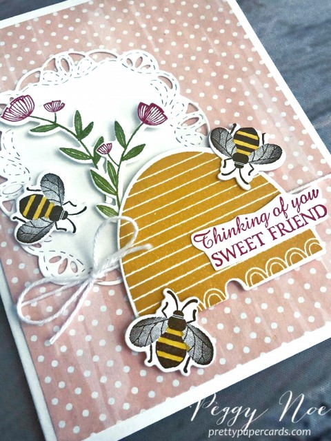 Honey Bees Stampin' Up! Peggy Noe