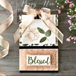 Magnolia Blessed Clip Board Stampin
