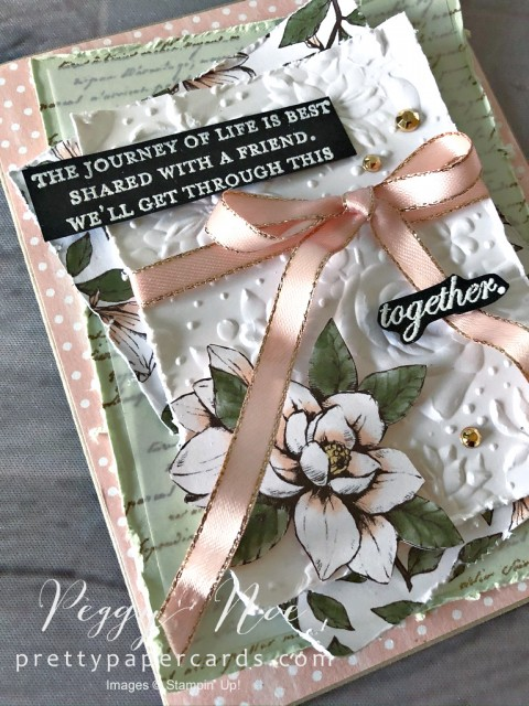 Magnolia Card Stampin' Up! Peggy Noe