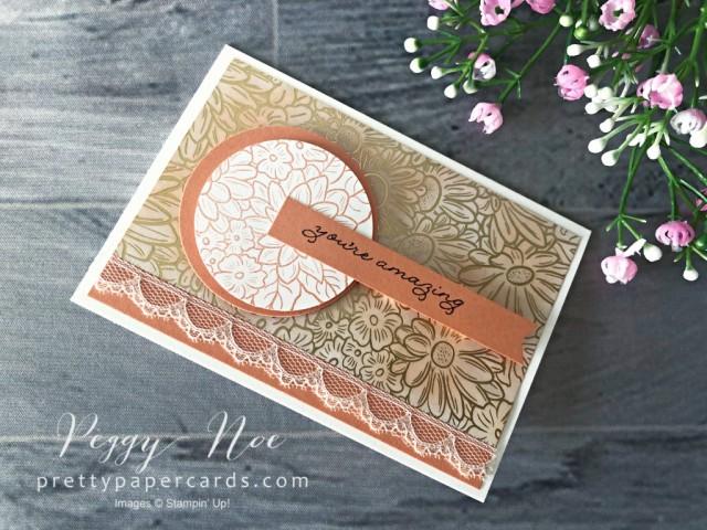 Ornate Garden Grapefruit Card Pretty Paper Cards