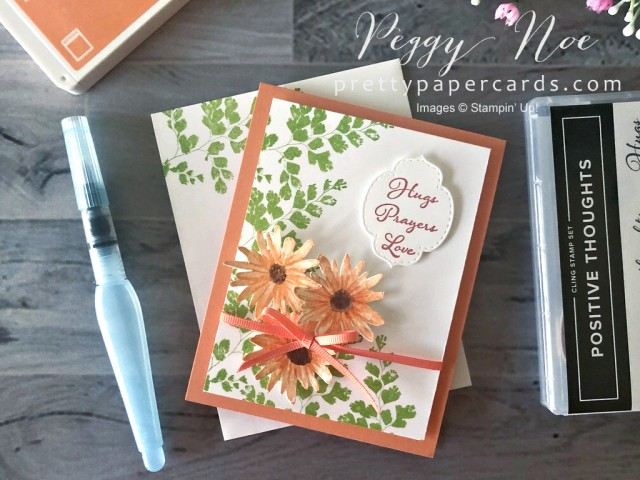 Positive Thoughts Stampin' Up! Pretty Paper Cards