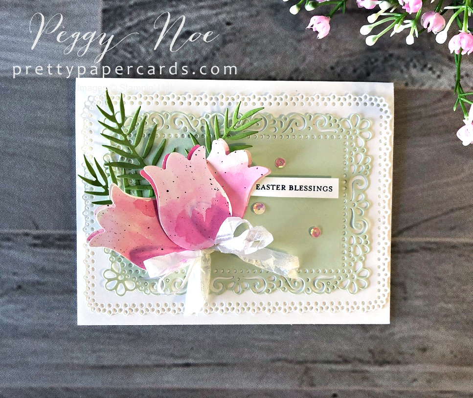 Tropical Tulip Easter Card!