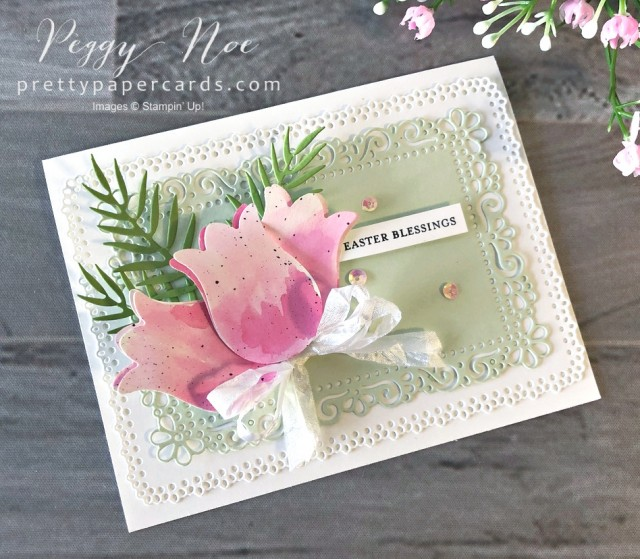 Timeless Tulips Easter Blessings Pretty Paper Cards