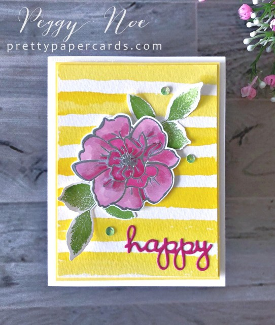 To a Wild Rose Stampin' Up! Pretty Paper Cards (1)
