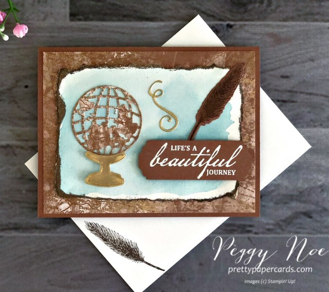 Beautiful World Stampin' Up! Pretty Paper Cards