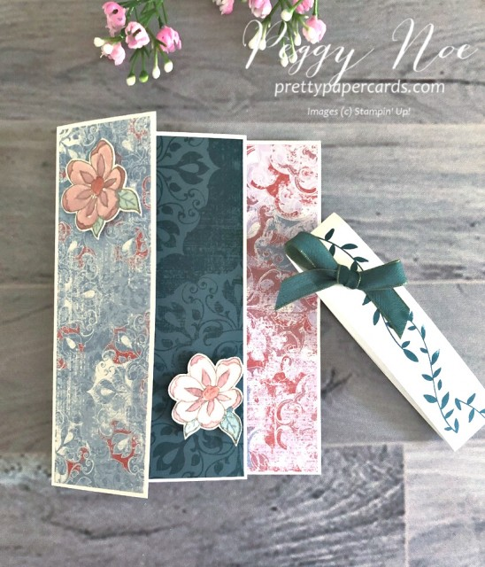 Botanical Bliss Card Stampin' Up! Peggy Noe
