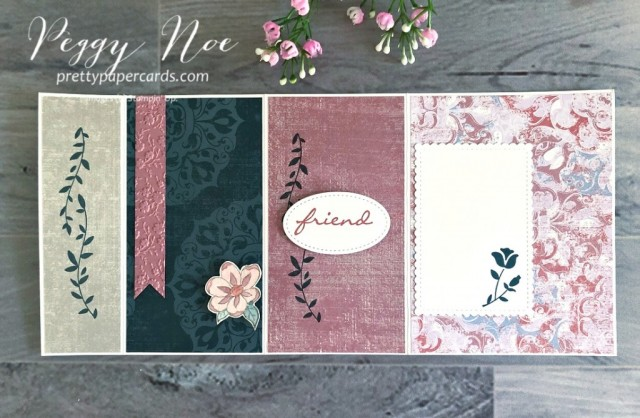 Botanical Bliss Card Stampin' Up! Pretty Paper Cards