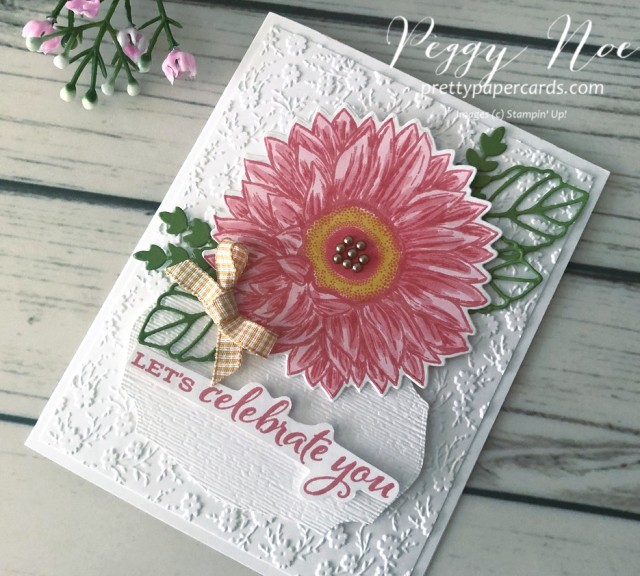 Celebrate Sunflowers Card Stampin' Up! Pretty Paper Cards
