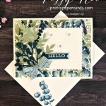 Forever Fern Hello Card Stampin
