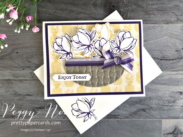 Good Morning Magnolia Stampin' Up! Peggy Noe