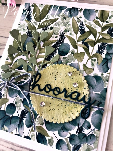 Hooray Forever Greenery Stampin' Up! Peggy Noe