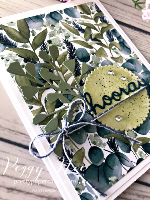Hooray Greenery Stampin' Up! Peggy Noe
