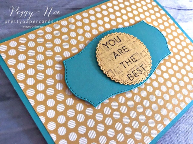 In Good Taste Card - Stampin' Up! Peggy Noe