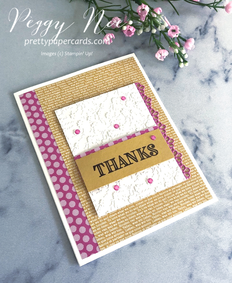 NEW VIDEO: Thank You Cards with New In Colors!