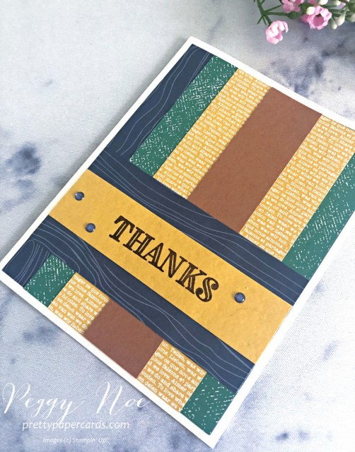 Ornate Thanks Stampin' Up! Pretty Paper Cards