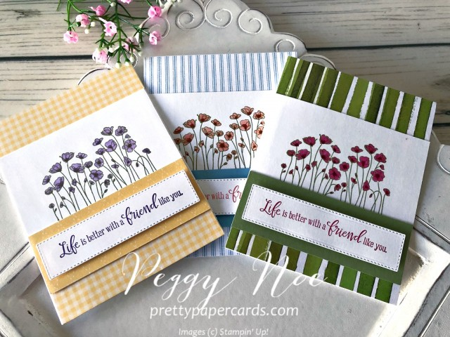 Painted Poppies Stampin' Up! Peggy Noe