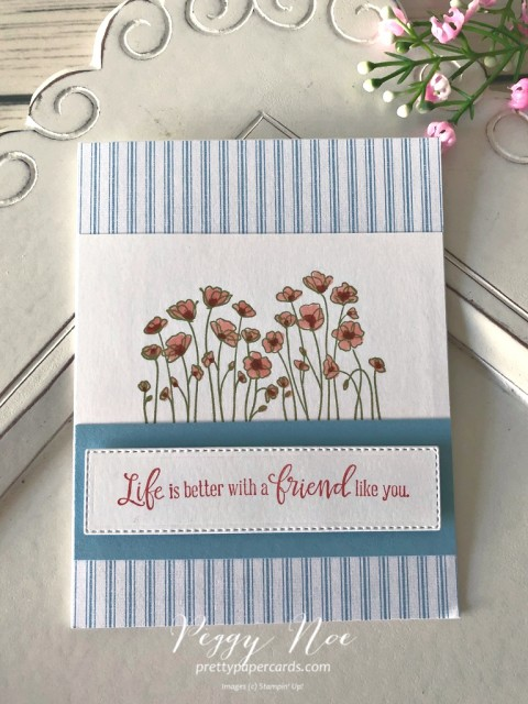 Painted Poppies Stampin' Up! Pretty Paper Cards