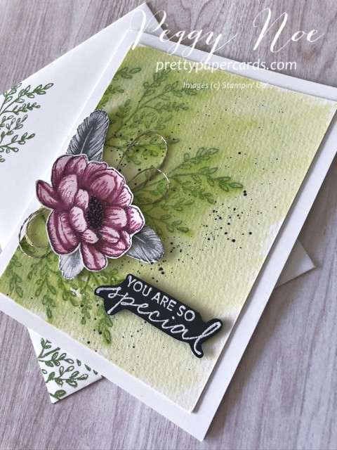 Tasteful Touches 3 Flowers Pretty Paper Cards