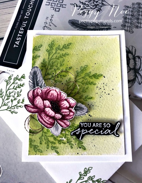 Tasteful Touches Stampin' Up! Pretty Paper Cards