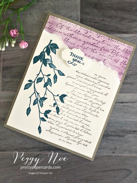 Versailles Stampin' Up! Peggy Noe