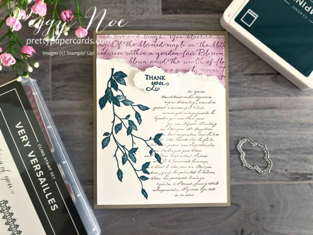 Versailles Stampin' Up! Pretty Paper Cards