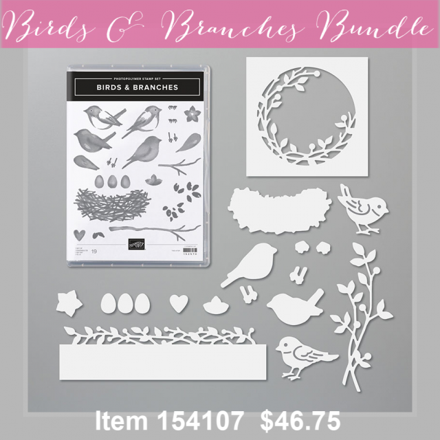 Birds & Branches Bundle 154107G