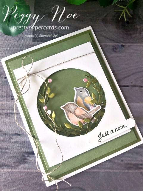 Birds & Branches Card Peggy Noe
