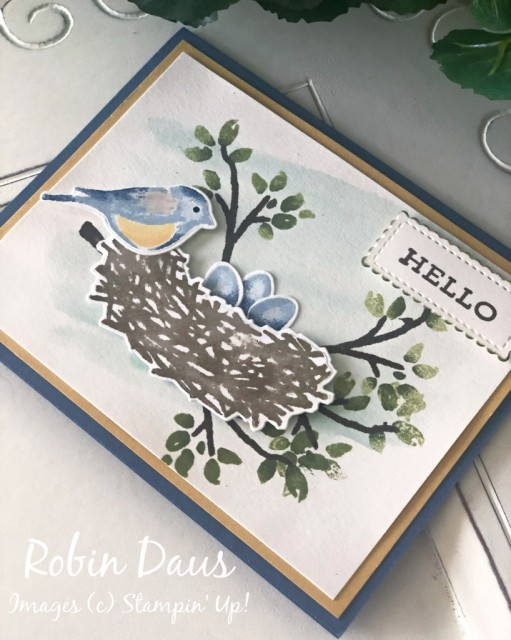 Birds&Branches Card RD Stampin' Up!