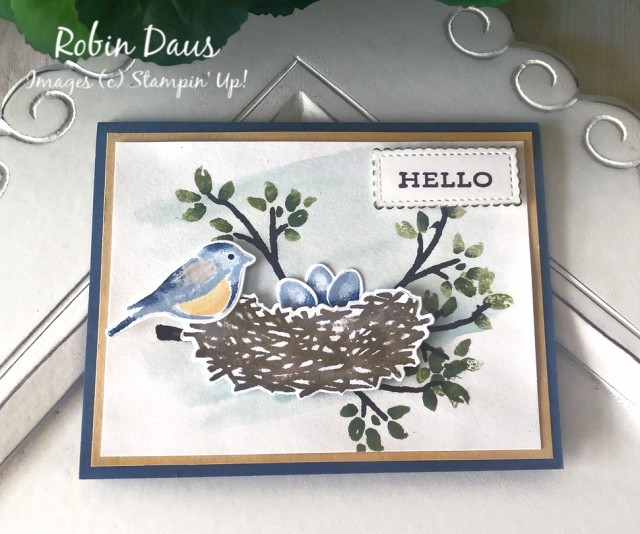 Birds&Branches Card by RD Stampin' Up!
