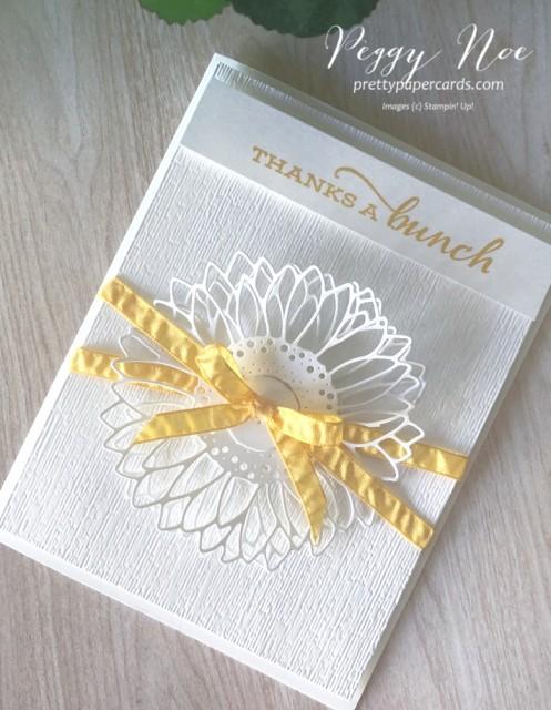 Celebrate Sunflowers Card Pretty Paper Cards