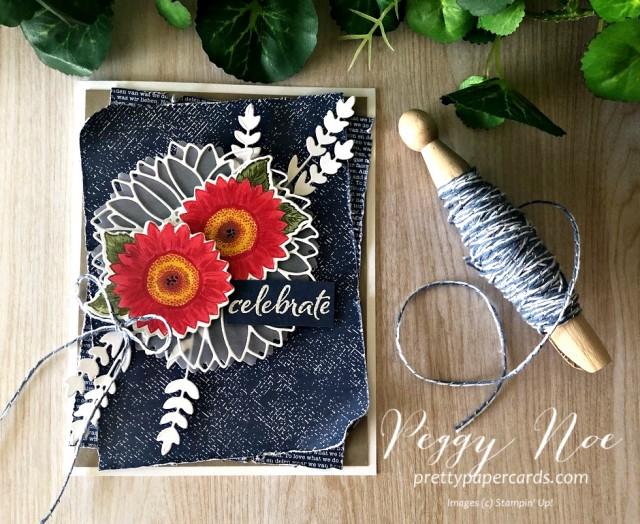 Denim Celebrate Sunflowers Peggy Noe