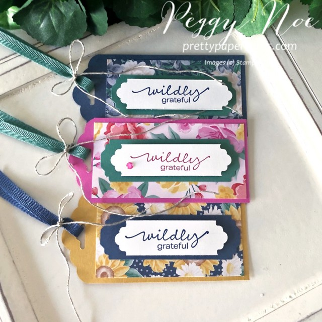 Flowers for Every Season Tags Pretty Paper Cards