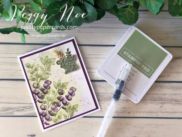 Forever Fern Card Stampin' Up! Peggy Noe