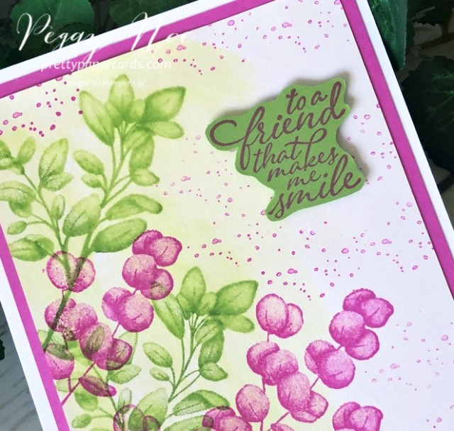 Forever Fern Card Stampin' Up! Pretty Paper Cards