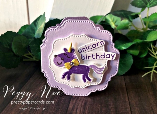 Hippo Happiness Card Stampin' Up! Peggy Noe