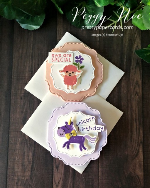 Hippo Happiness Card Stampin' Up! Pretty Paper Cardw