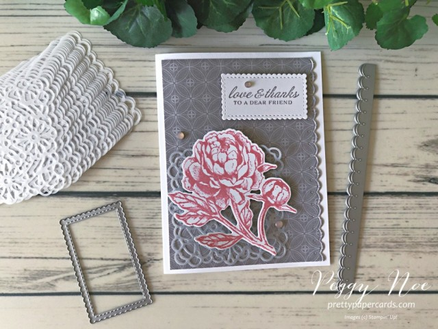 Peony Love & Thanks Stampin' Up! Peggy Noe