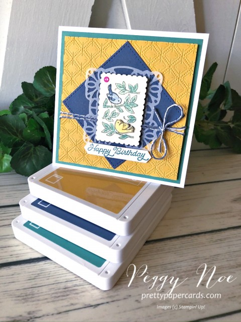 Posted for You Birthday Stampin' Up! Peggy Noe