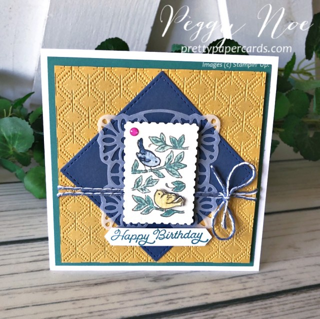 Posted for You Birthday Stampin' Up! Pretty Paper Cards