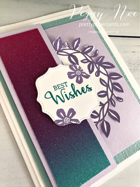 Arrange a Wreath Best Wishes Stampin' Up! Peggy Noe