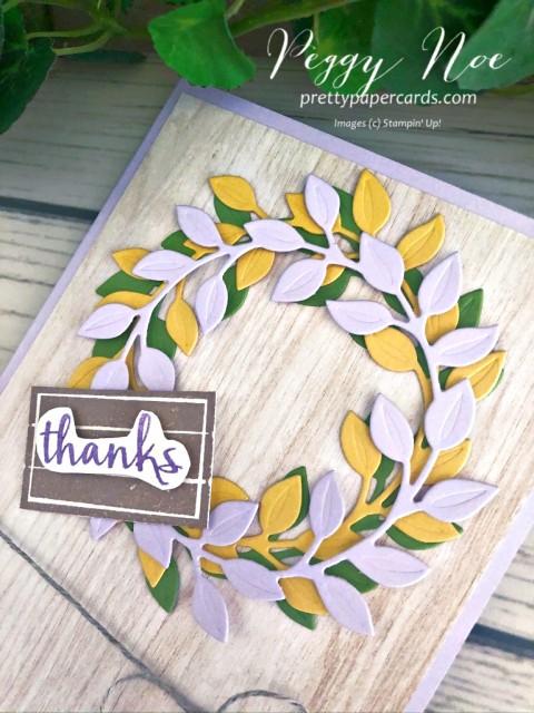 Arrange a Wreath Card Peggy Noe