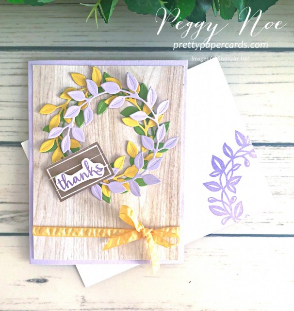 Arrange a Wreath Pretty Paper Cards