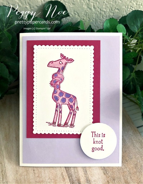 Back on Your Feet Stampin' Up! Peggy Noe (1)
