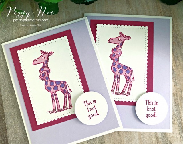 Back on Your Feet Stampin' Up! Pretty Paper Cards