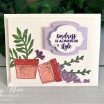 Basket of Blooms Card Stampin