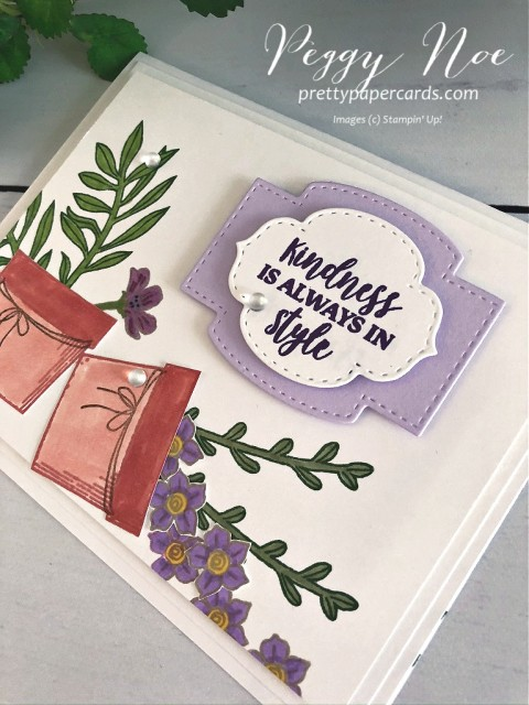 Basket of Blooms Kindness Stampin' Up! Peggy Noe
